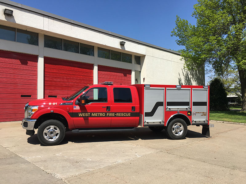 ... Up On F 350 Chassis With A Poly Work Box Mounted On The Back. They Are  Used To Run First Response Medical Calls And Less Emergent Calls For  Service.